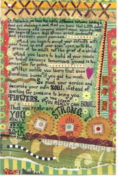 Journal Page  Original Poem by Veronica Shoffstall. Artwork  by MaryEllen