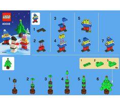 LEGO Snowman Building Set 40008 Instructions Lego Winter, Lego Club, Lego Harry Potter, Lego Duplo, Lego Ninjago, Lego Sets, Lego Christmas Village, Harry Potter Advent Calendar, Toys
