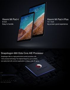 Original Box Xiaomi Mi Pad 4 4G LTE Version Snapdragon 660 4GB RAM 64GB 8 MIUI 9 OS Tablet PC Tablet, Computer Network, Pad, Office And School Supplies, Laptop Accessories, Diy Kits, Coupon Codes, The Originals, Computers