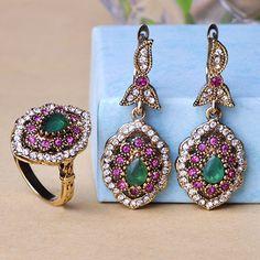 Aliexpress.com : Buy Antique Indian Vintage Jewelry Sets Jade ...