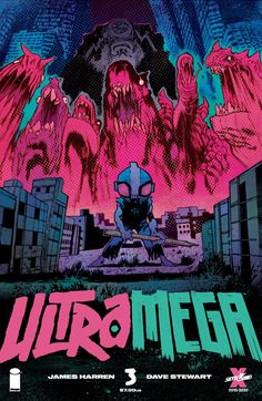 More kaiju action is on the way in Ultramega #3, due out on 5/19 from Image Comics & Skybound Entertainment.