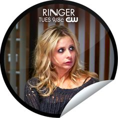 Ringer: Let's Kill Bridget...Things are not going well for this twin.  Are you seeing double? Check-in with GetGlue.com for Ringer stickers!