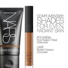 #Nars tinted moisturizer and concealer