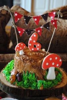 woodland fairy Birthday Party Ideas | Photo 2 of 37 | Catch My Party @bethanne513  a cute birthday party theme!