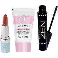 Farmasi Cc Krem Açıktan Ortaya + Zen Mascara + Bb Mat Ruj 03 Fiyatı All In One, Mascara, Zen, Lipstick, Mascaras, Lipsticks