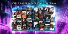 Enter to win 50 SciFi & Fantasypaperbacks! (Okay, so a few of these are hardcover…) Sponsored by a fabulous group of authors! By entering you are agreeing to be subscribed to their newsletters!  List of Prizes:  J.K. Rowling's Fantastic Beasts and Where to Find Them Sarah J. Maas's The Assassin's Blade Sarah J. Maas's A Court of Thrones Sarah J. Maas's Queen of Shadows Gena Showalter's Firstlife Victoria Aveyard's Red Queen Sherrilyn Kenyon's Infinity Stephanie Meyer's The Host Teyla Bra...