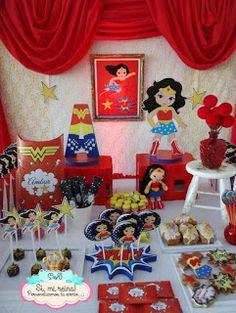 Festa Mulher Maravilha: ideias para inspirar! - Guia Tudo Festa - Blog de Festas - dicas e ideias!