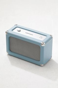 Shop Crosley Charlotte Tourmaline Bluetooth Speaker at Urban Outfitters today. Cool Gifts For Teens, Cool Tech Gifts, Presents For Girls, Cute Gifts, Best Gifts, Diy Speakers, Wireless Speakers, Portable Speakers, Bluetooth Gadgets