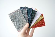Glitter Card Wallet / Oyster Card Holder by OHNORachio on Etsy, £8.00