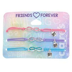 Cute Friendship Bracelets, Bff Bracelets, Friend Necklaces, Stretch Bracelets, Best Friend Jewelry, Best Friend Gifts, Hasbro My Little Pony, Cosplay Boots, Best Friends Forever
