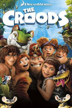 While it may not be as (ahem) evolved as the best modern animated fare, The Croods will prove solidly entertaining for families seeking a fast-paced, funny cartoon adventure.  After their cave is destroyed, a caveman family must trek through an unfamiliar fantastical world with the help of an inventive boy.