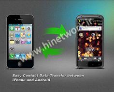 انتقال کانتکت های گوشی اندروید به گوشی آیفون و برعکس