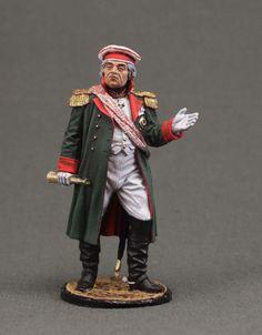 General Field Marshal Prince Mikhail Golenishtchev-Kutuzov. Russia, 1812
