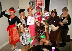 diy halloween costumes 7 continents and tourists - Halloween Costumes For 7