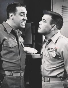 Gomer Pyle's Jim Nabors and Frank Sutton