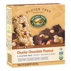 Chunky Chocolate Peanut Chewy Granola Bars | Nature's Path