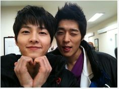 Song Joong Ki as Ahn Kyung Woo [2] with So Ji Suk
