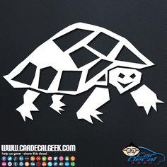 Cute freaking turtle car decal! Buy it now! #awesometurte #wildlifedecal #wildsticker