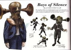 BIOSHOCK INFINITE Concept Art of Boys of Silence