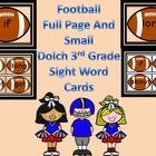 Here is a set of football Dolch Third Grade Sight Word Cards that can be used at the beginning of the school year or anytime. There is a color back... Spelling Word Activities, Sight Word Flashcards, Spelling Words, Sight Words, Science Guy, How To Get Followers, Beginning Of The School Year, English Language Arts, Kindergarten Literacy
