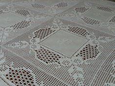 Filomena Crochet e Outros Lavores: - Uma toalha de banquete