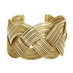 Inner Waves Cuff - Gold