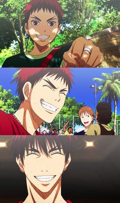 Kuroko no Basket - Kagami Taiga - 火神 大我 Manga Anime, Otaku Anime, Anime Art, Aomine Kuroko, Kagami Taiga, Cute Anime Guys, I Love Anime, Kuroko No Basket Characters, Kuroko's Basketball