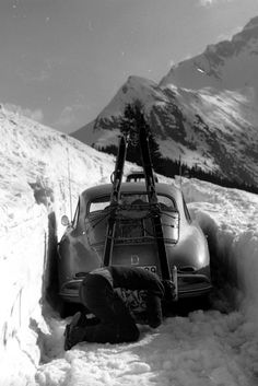 This Christmas, discover the classic thrill of snow-driving | Classic Driver Magazine