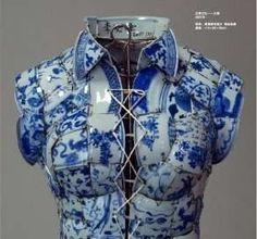 Ceramic dress Li Xiaofeng