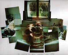 ian washing his hair, david hockney, 1983 David Hockney Joiners, David Hockney Photography, Movement Photography, Through The Looking Glass, Artsy Fartsy, Photo Art, London, Hair, Fashion Illustrations