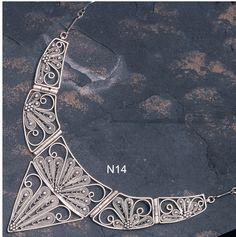 Jewish Yemenite style necklace from Israel.