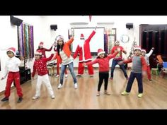 Zumba Kids Christmas Party was a complete blast and we decided to do a impromptu video recording ,so please excuse all the goof ups. Our Santa also decided t. Preschool Christmas Songs, Christmas Skits, Ward Christmas Party, Christmas Dance, Christmas Program, Christmas Concert, Christmas Bells, Kids Christmas, Vive Le Vent