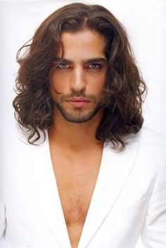 man with long hair | Pedro Perestrello | Handsome Men