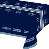 Dallas Cowboys Plastic Table Covers