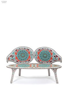 Cangaco sofa by Fernando e Humberto Campana at Firma Casa. #design #products #interiordesign #interiordesignmagazine #seating #DesignMiami