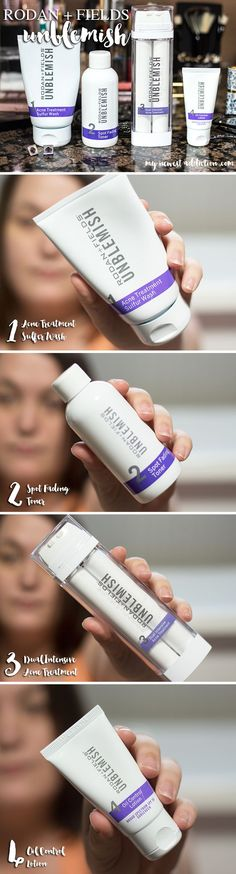 UNBLEMISH  - get rid of adult acne and scarring, to have clear beautiful skin. Made from the doctors of Proactiv