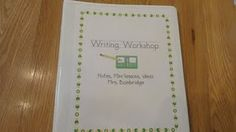 Picture Books for Teaching Six Trait Writing