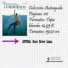 Diario de una BeautyAdicta: # EL LIBRO DE LA SEMANA # - LA RESILIENCIA - .
