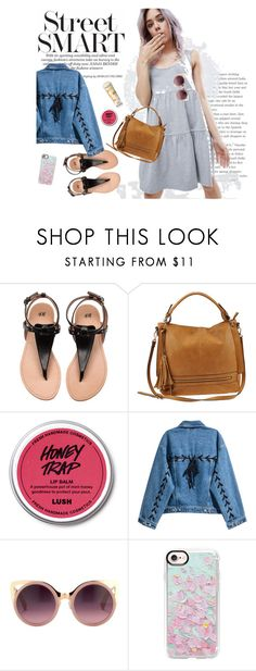 """""""Asoshow: Doll Dress"""" by asoshow on Polyvore featuring Urban Expressions, Aveeno, Erdem and Casetify"""