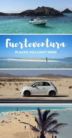 A complete guide to Fuerteventura with places you can't miss. All you need to know before travelling to Fuerteventura!