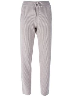 Charlie May knitted track pants