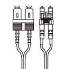 Fiber Patch Cord Cable SC to LC Singlemode Duplex OS1 9/125 OS1-SC-LC-D Fiber Patch Cord, Cable, Patches, Cabo, Electrical Cable, Wire