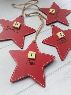 Personalised Christmas Star Christmas ornament First
