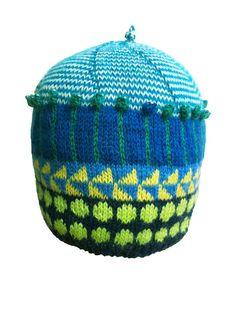 Hand Knit Original Icelandic Design Boys Beanie Girls by LizSox, $42.00