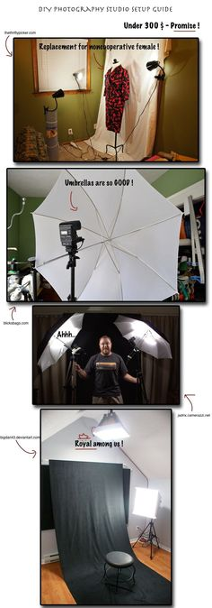 DIY Photography Studio Setup is not hugely costly. You can have a DIY Photography Studio at your home if spend around 300 USD.