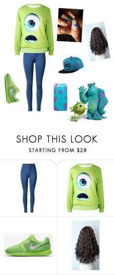 """Monster inc inspired"" by tavarezstyles8 ❤ liked on Polyvore featuring INC International Concepts"