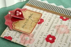 Danielle Flanders...love her beautiful, creative cards...