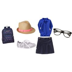 """Kickin it in a Uniform"" by nm45751 on Polyvore"