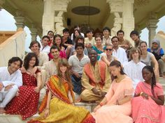 We try the India Traditional cloths