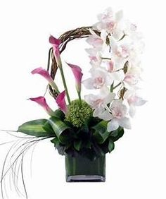 Exotic flower arrangement | Flowers | Pinterest